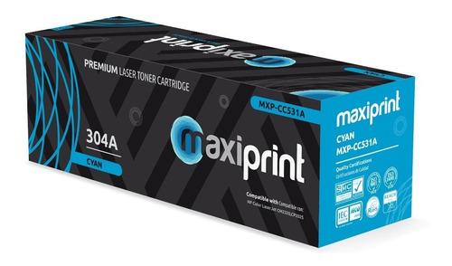 Toner Hp Cc530a 304a Negro Maxiprint Cp2020 2025 Cm2320