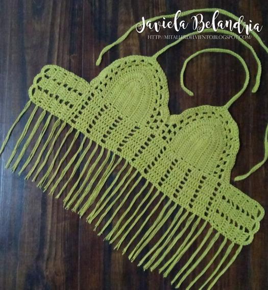 Tops Y Croptops Tejidos A Crochet