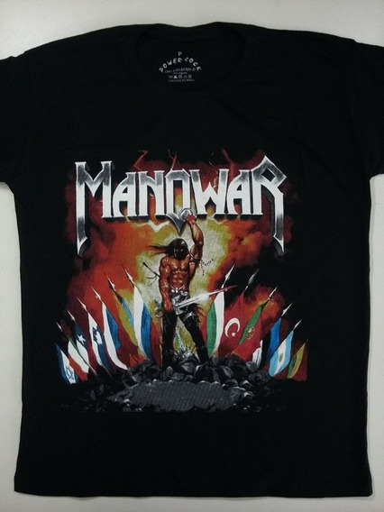 Camiseta Banda Manowar - Kings Of Metal Mmxiv - Power Rock