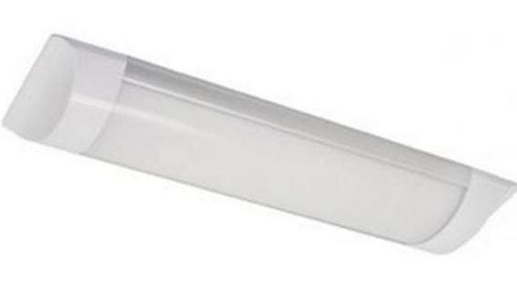 Painel Led Sobrepor Retangular 60x7,5 18w Branco Frio