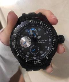 Relógio Masculino Náutica Preto Original