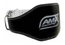 Cinturon Para Pesas De Cuero Amix Gym Crossfit Fitness