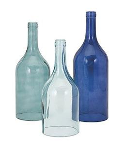 Imax 96400 R 3 Monteith Azul Cloche Botellas, Conjunto De 3