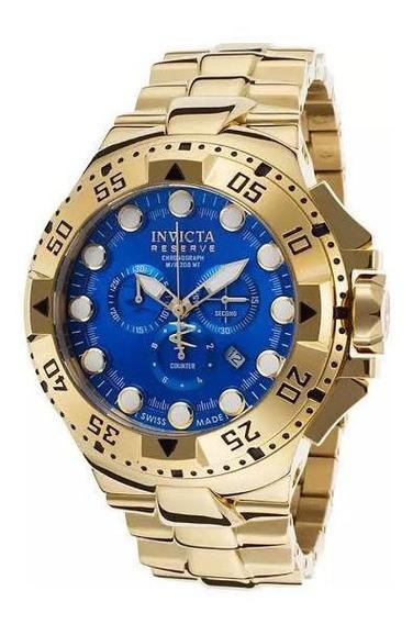 Relógio Invicta Original Dourado Excursion 16679