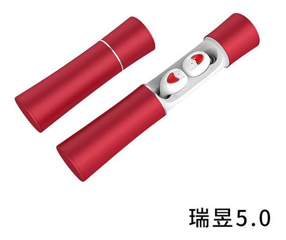 20 Vermelho # Tw-fz-22 Modelo Privado Longo Tws Bluetooth Fo