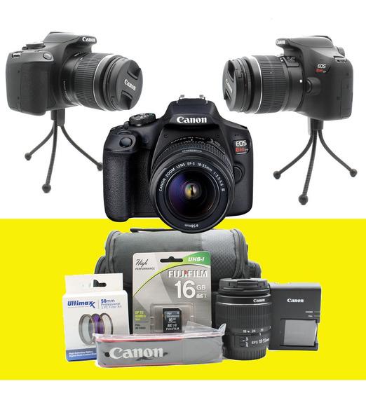 Camara Canon Eos Rebel T7 24mpx Nueva A Estrenar