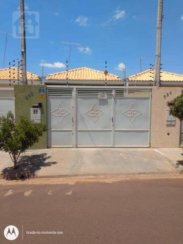 Casa À Venda, 66 M² Por R$ 130.000,00 - Residencial Portal Da Pérola Ii - Birigüi/sp - Ca1105