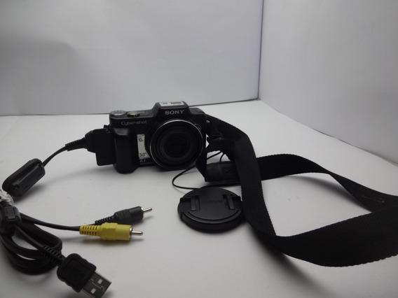 Câmera Sony Cyber Shot Dsc - H10 - Memória Sony 1 Gb