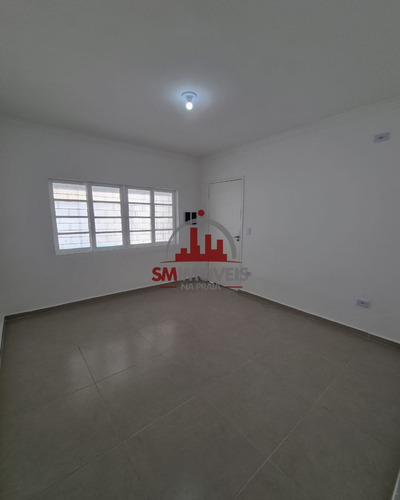 Imagem 1 de 18 de Casa Geminada Com 02 Dormitórios Na Guilhermina Praia Grande - Ca00332 - 69946666