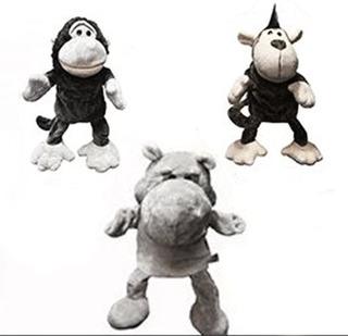 Títeres Peluche Con Patas Niños Animales Marioneta 4970m