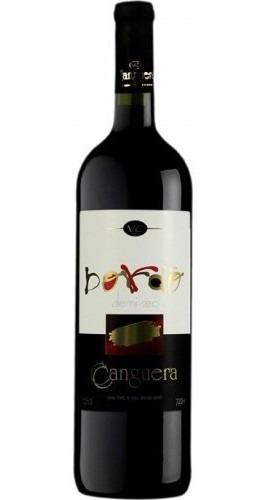 Vinho Tinto Demi - Sec Bordô 720ml - Canguera