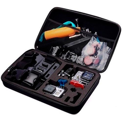 Imagen 1 de 5 de Estuche Con Kit De Accesorios Para Gopro Sj4000 Y Sj600