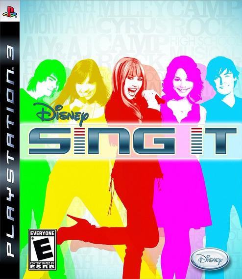 Disney Sing It Ps3   Mídia Física Original Playgorila