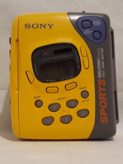 Walkman Sony Wm- Sxf39 Am/fm Deck Auto Reverse