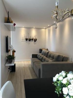 Apartamento Mobiliado No Bairro Itacolomi - Piçarras À 100 Mts Da Praia - 1075
