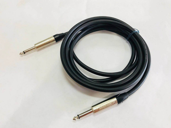 Cable De Instrumentos Guitarra Piano Plug Mono Neutrik 5mts