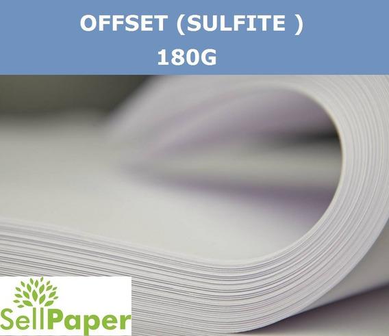 Papel Offset 180g A4 - 1.000(mil) Folhas