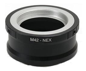 Adaptador Lente M42 Para Cameras Sony Nex E-mount