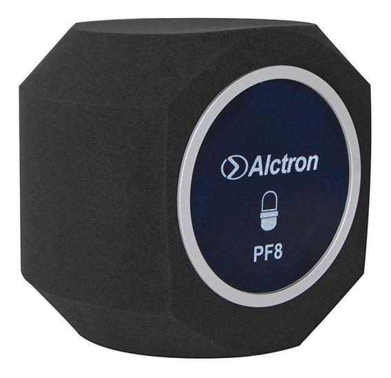 Alctron Pf8 Studio Mic Tela Filtro Acústico Desktop De De