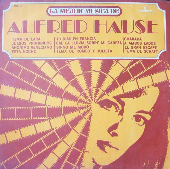Alfred House Disco Vinilo Lp Soundtrack