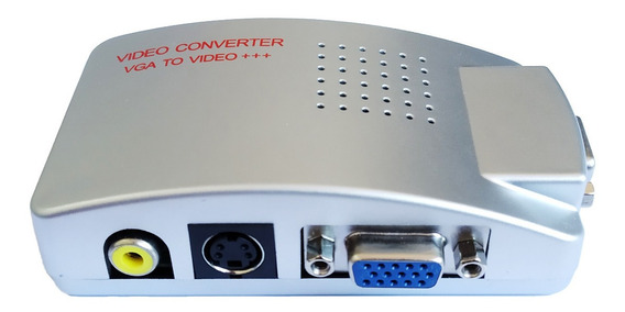 Converte As Conexões De Víd/ Bnc,ou Rca S-vídeo E Vga P/ Vg