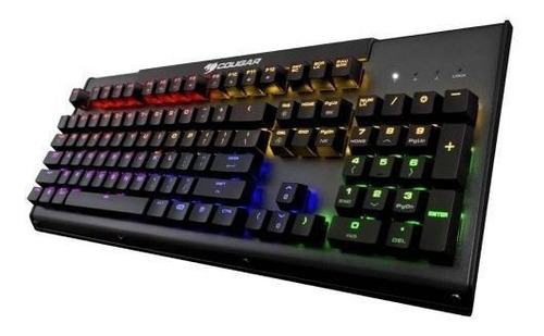 Imagen 1 de 6 de Teclado Gamer Mecanico Cougar Ultimus Steel Iluminación Rgb