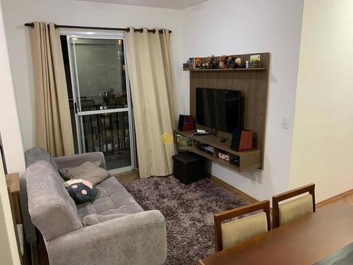 Apartamento À Venda, 50 M² Por R$ 280.000,00 - Vila Metalúrgica - Santo André/sp - Ap3128