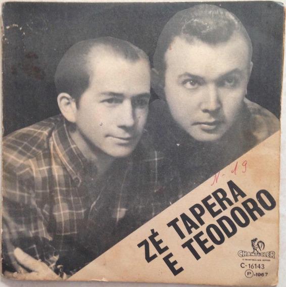 Compacto Zé Tapera E Teodoro (1967) Chantecler