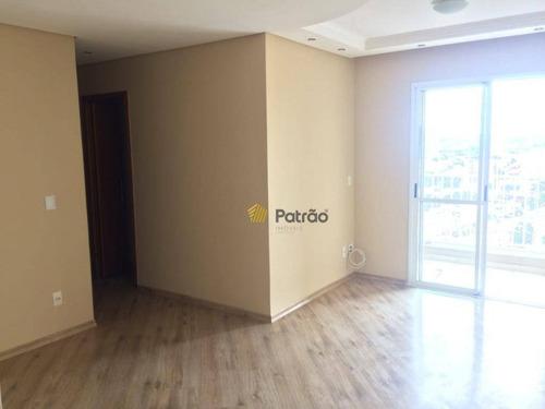 Apartamento Com 3 Dormitórios À Venda, 73 M² Por R$ 468.000 - Vila Helena - Santo André/sp - Ap3144