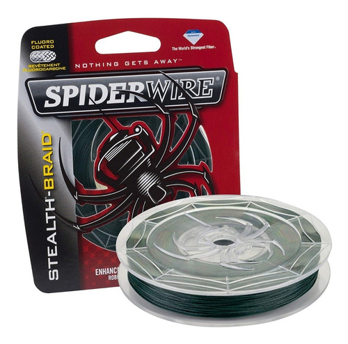 Spiderwire Stealth Braid Linea Trenzada Pesca 6 Lb
