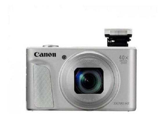 Câmera Canon Powershot Sx-730 Hs 20.3mp Com Wi-fi - Prata