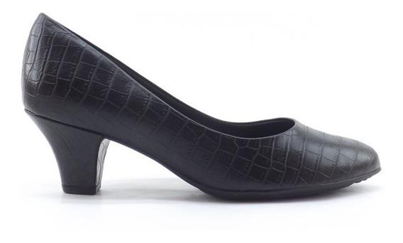 Zapato Picadilly Clasico Charol Taco Comodo Dama 703001