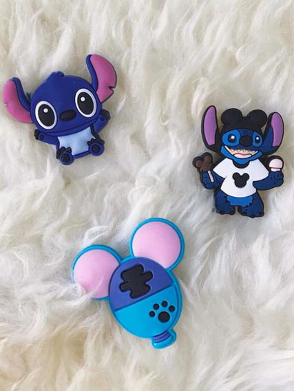 6 Pins Crocs Disney, Pony, Stitch Y Más!! Heypins