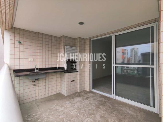 Apartamento 2 Dormitórios Na Quadra Da Praia,forte - V838
