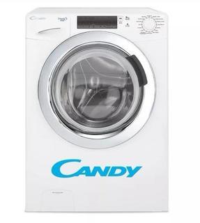 Lavarropas Candy Gvs128 Carga Frontal 8kg 1200rpm Blanco Nfc