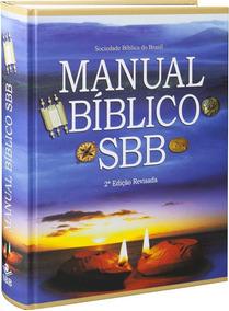 Box 02 Unidades Manual Bíblico Sbb - 2ª Edição Rev.ultima Un