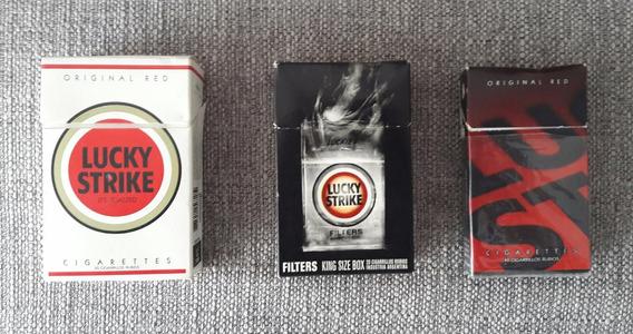 Cajas Cigarrilos Lucky Strike
