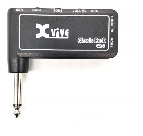 Imagem 1 de 4 de Mini Amplificador Para Guitarra C/ Distorção Recarrega Cma-3