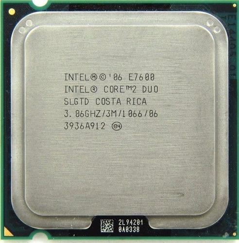 Processador Core 2 Duo E7600 3,06ghz 3mb 1066 Lga 775 ¨