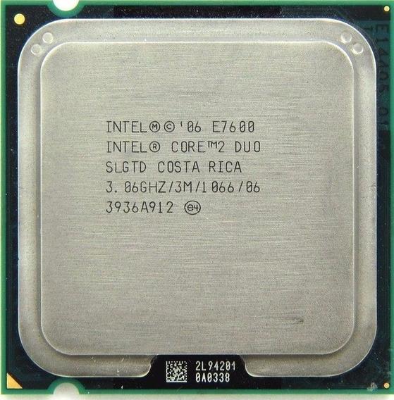 Kit 12 Processador Core 2 Duo E7600 3,06ghz 3mb 1066 Lga