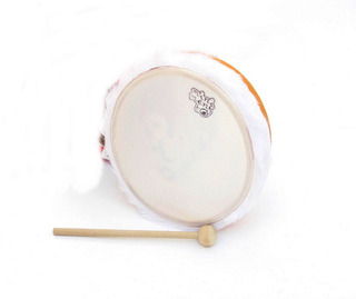 Instrumento Musical Pandero Eco Tambor Percusion 14cm