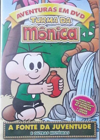 Dvd Turma Da Mônica A Fonte Da Juventude Original