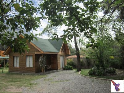 Arriendo Cabaña Cajon Del Maipo (casa Colibri)