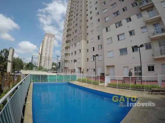 Apartamento Para Locação Em Cajamar, Portais (polvilho), 2 Dormitórios, 1 Banheiro, 1 Vaga - 18791