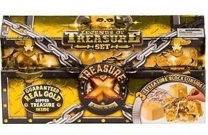 Treasure X Descubri El Tesoro Escondido X 3 Figuras.