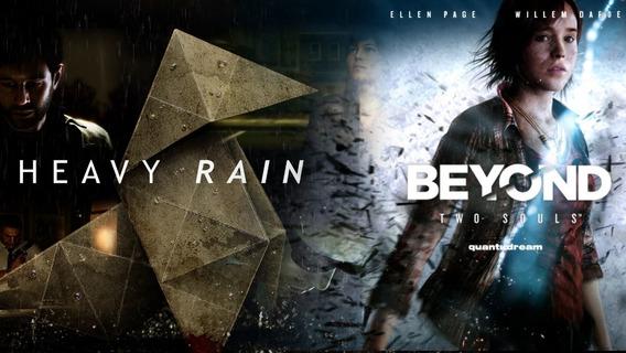 Heavy Rain + Beyond Two Souls - Leia Descrição