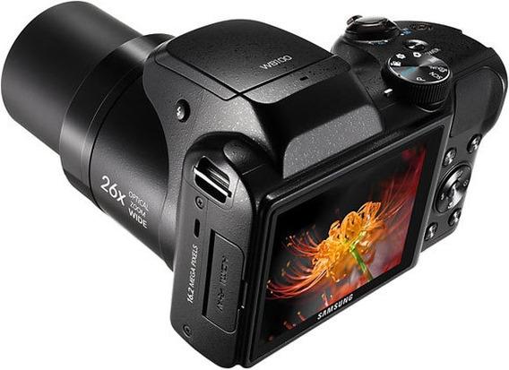 Câmera Fotográfica Samsung Semi Profissional 26x Zoom