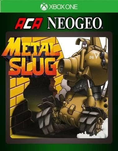 Metal Slug Xbox One Xone Clássico Código 25 Dígitos Comprar