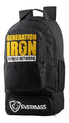Mochila Térmica Fitness Marmita Everbags Generation Iron Mtr