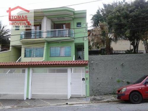 Imagem 1 de 23 de Amplo Sobrado, Com 3 Dormitóriossendo Duas Suítes, Uma Com Closet) - So1539